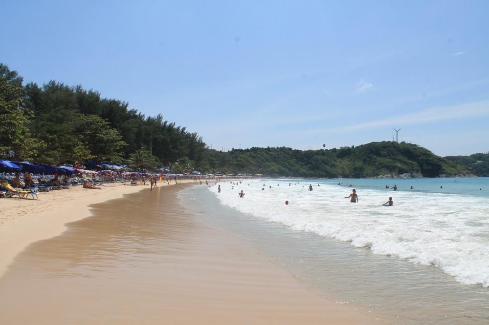 Phuket Thailand Nai Harn Beach water