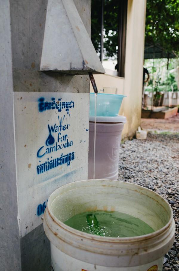 Volunteer in Asia Cambodia Siem Reap Water for Life Water Bucket