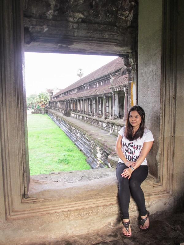 Angkor Temples, Cambodia Soul Searching Angkor Wat Frame
