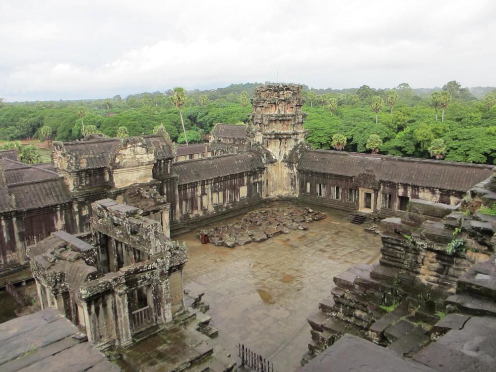 Angkor Temples Siem Reap Cambodia Angkor Wat Square
