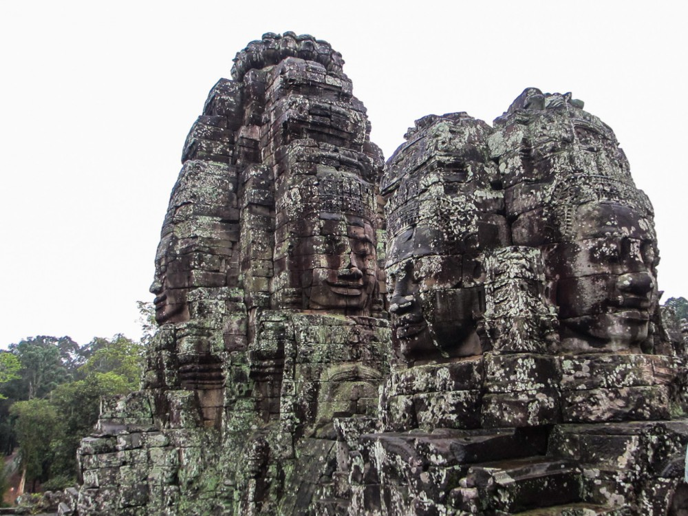 Angkor Temples, Cambodia Soul Searching Bayon Faces