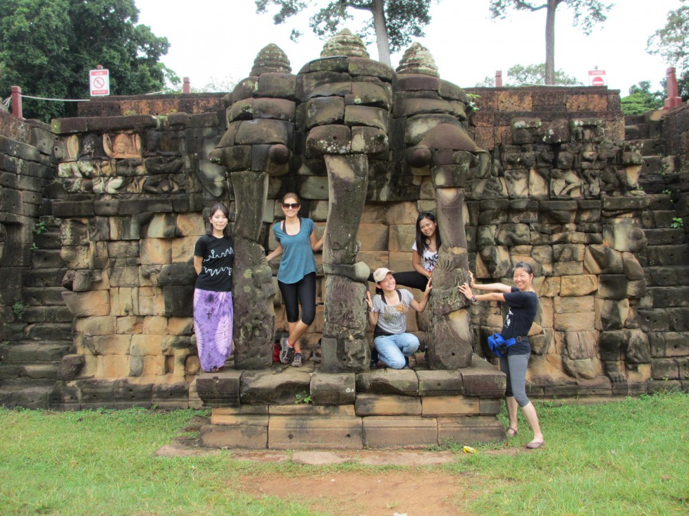 Angkor Temples, Cambodia Soul Searching Terrace of Elephants