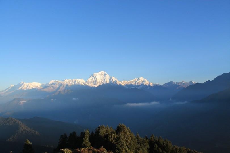 Ghorepani-Poonhill-Ghandruk Trek in Himalayas, Nepal ...