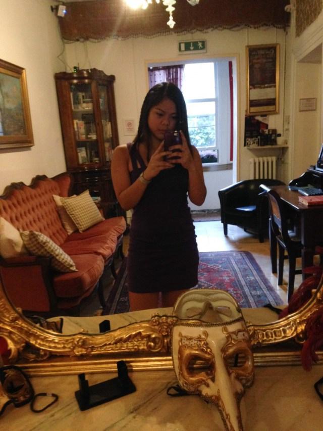 Hotel San Samuele Mirror