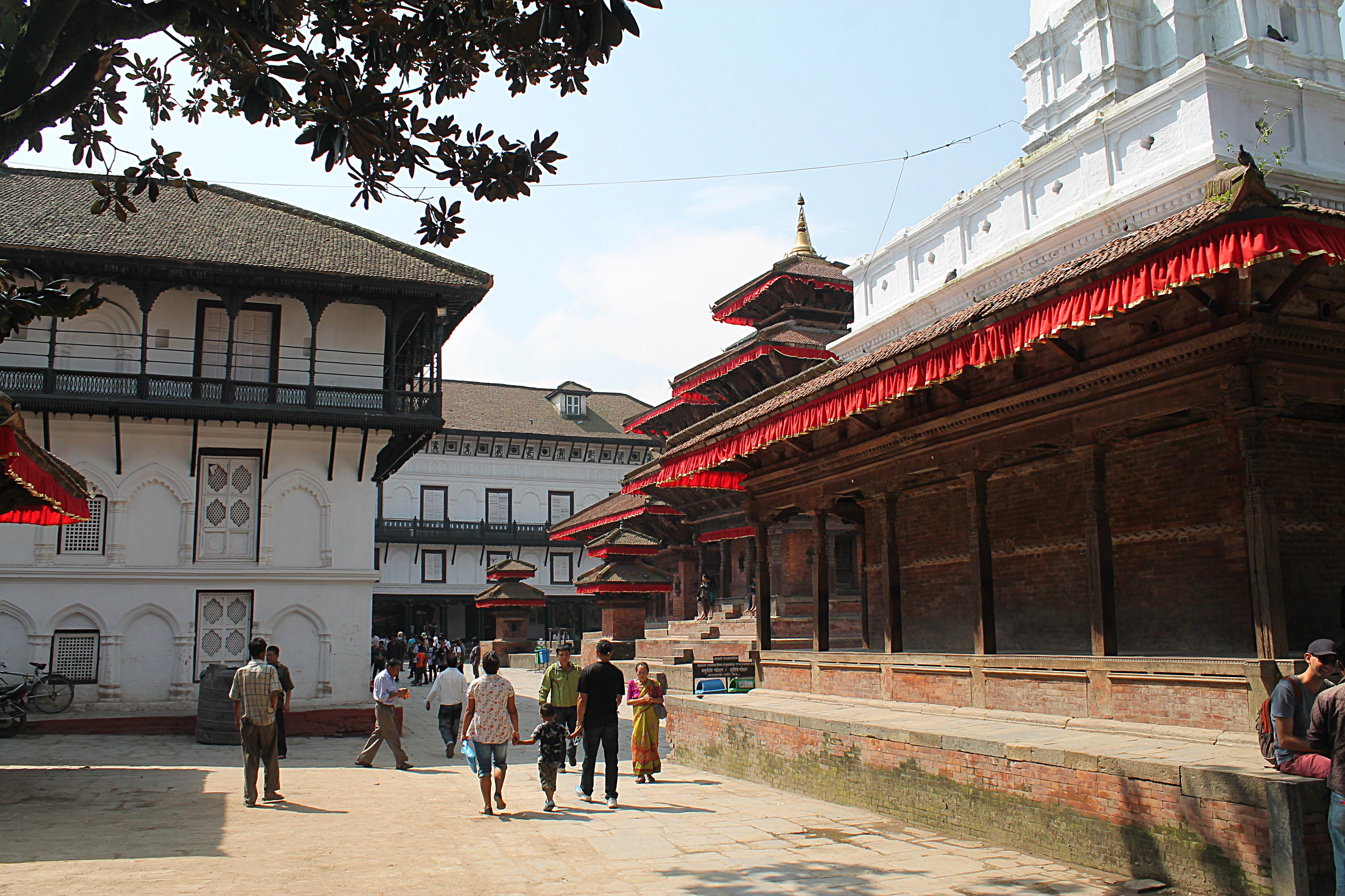 Kathmandu Nepal - Durbar Square Temple