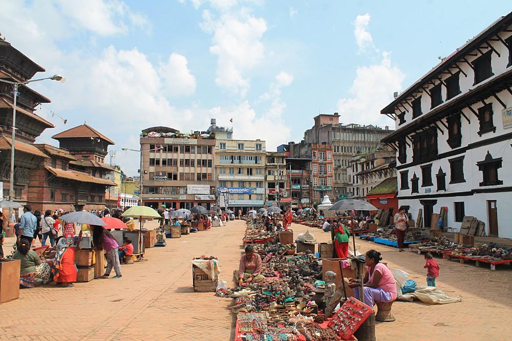 Kathmandu Nepal - Market Durbar Square