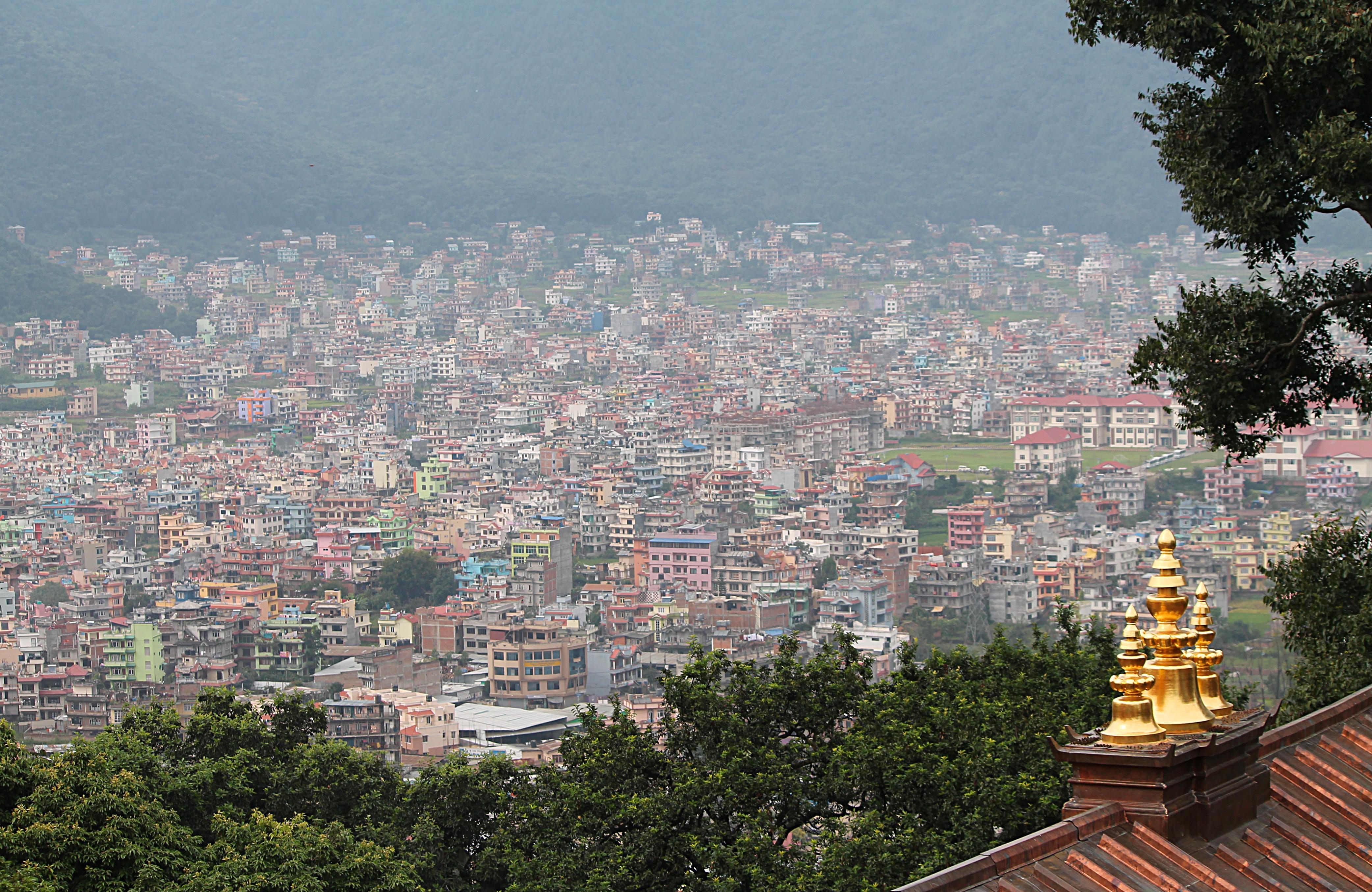 Kathmandu Nepal - Monkey Temple View