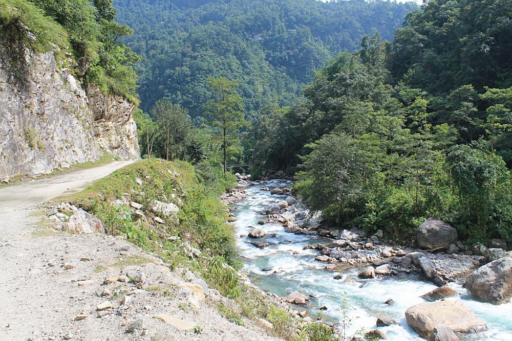 Ghorepani Poonhill Ghandruk Himalayas Trek Nepal - River