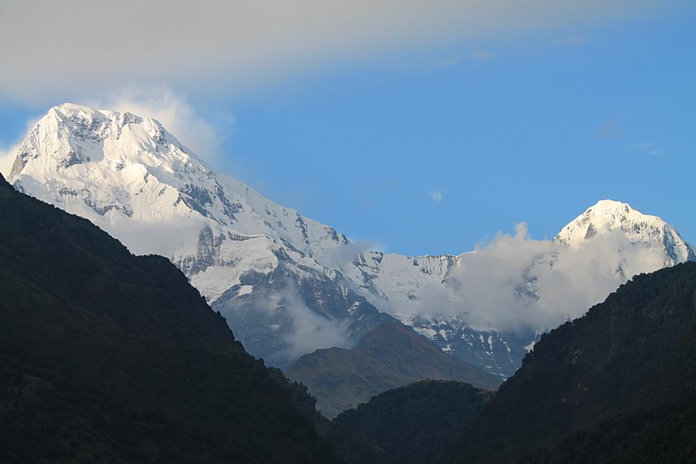 Ghorepani Poonhill Ghandruk Himalayas Trek Nepal -  Ulleri Mountain