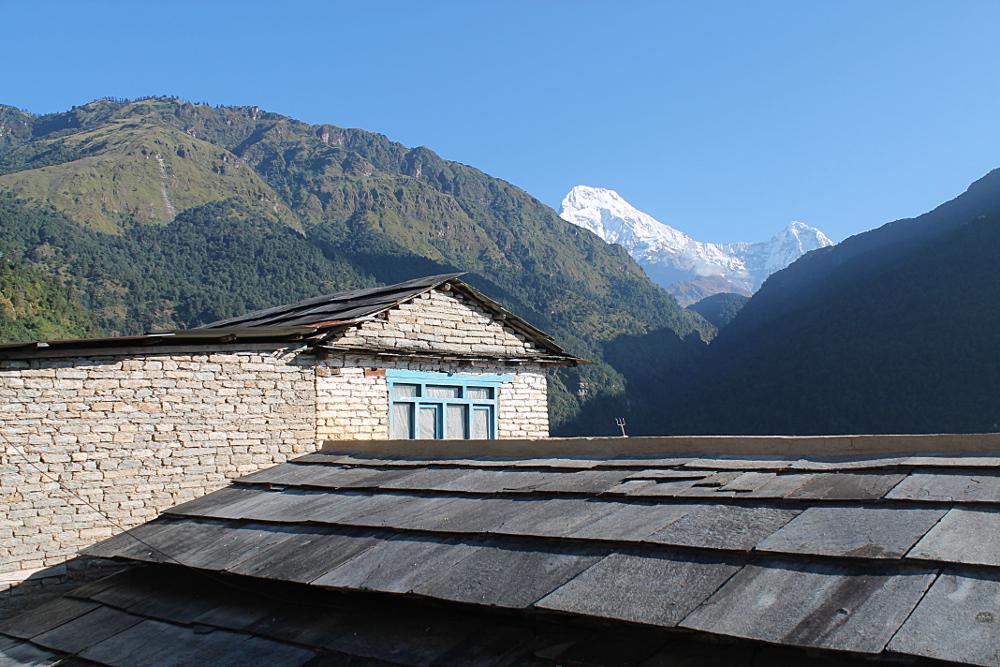 Ghorepani Poonhill Ghandruk Himalayas Trek Nepal -  Ulleri