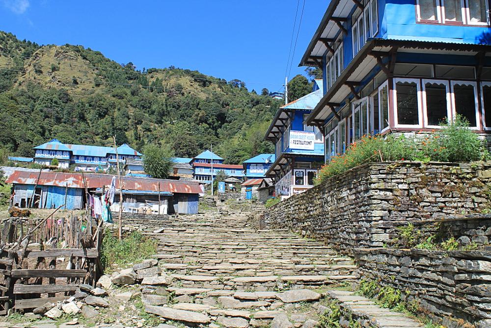 Ghorepani Poonhill Ghandruk Himalayas Trek Nepal -  Ghorepani Town