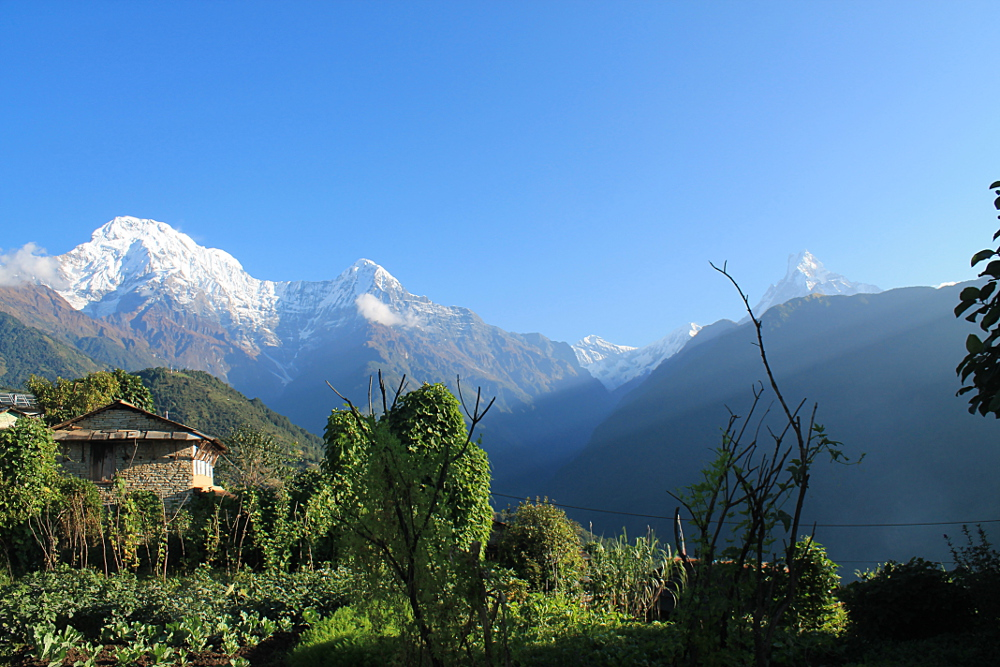 House in Ghandruk, Nepal - - Around the World in 18 Beds