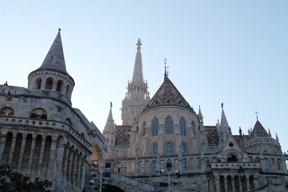 Beautiful Budapest Hungary- Fisherman Bastion