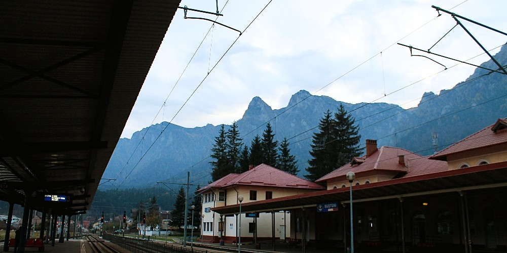 Night Train in Europe Brasov Romania to Hungary Budapest