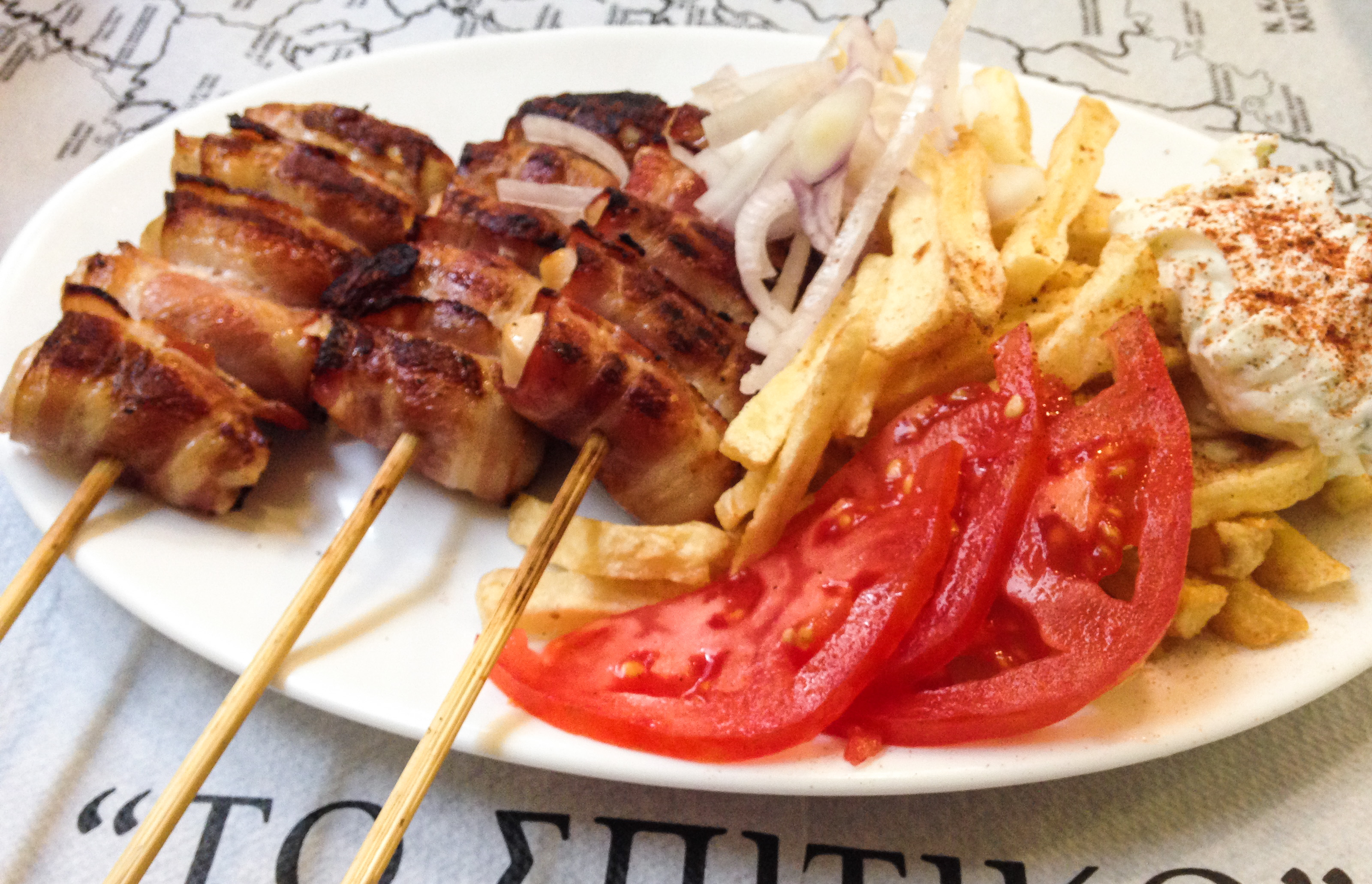 Souvlaki Greece - Must Try Food in Europe