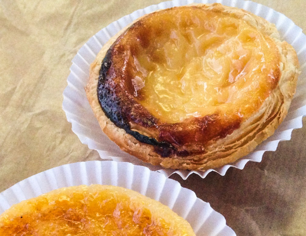 Pastel de Nata Egg Tarts - Must Try Food in Europe