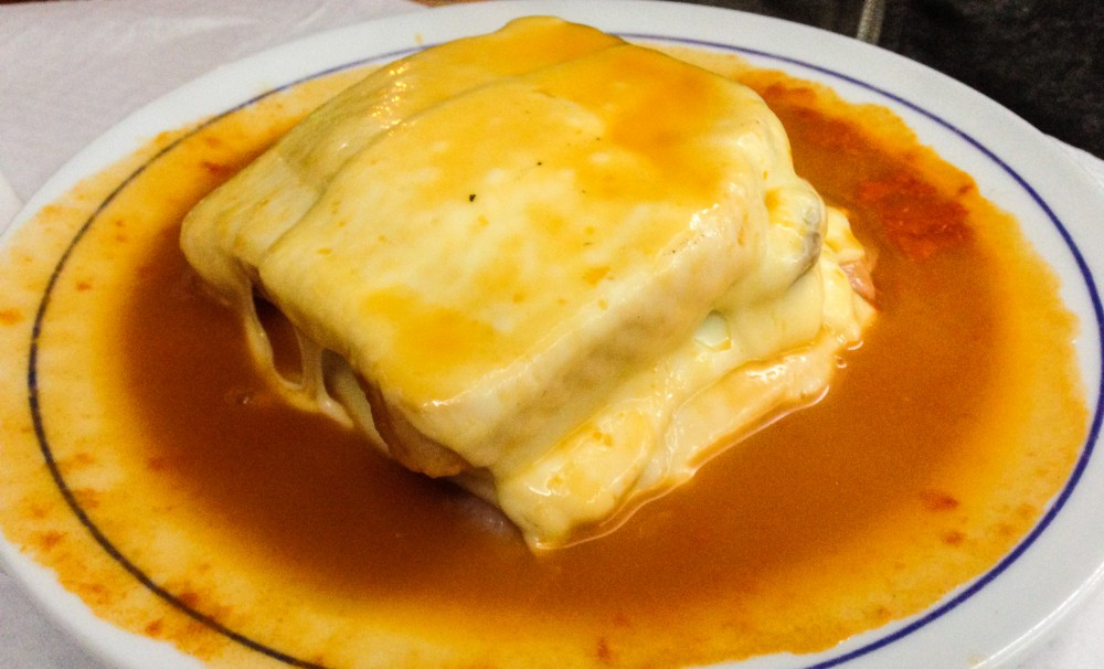 Francesinha Porto Portugal - Must Try Food in Europe