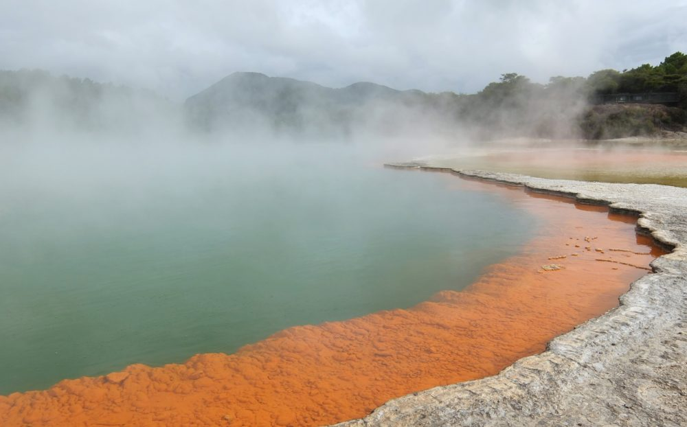 Wai O Tapu Thermal Wonderland Rotorua New Zealand Surreal Destination