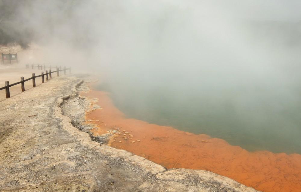 Wai-O-Tapu Thermal Wonderland Rotorua New Zealand Champagne Pool 2