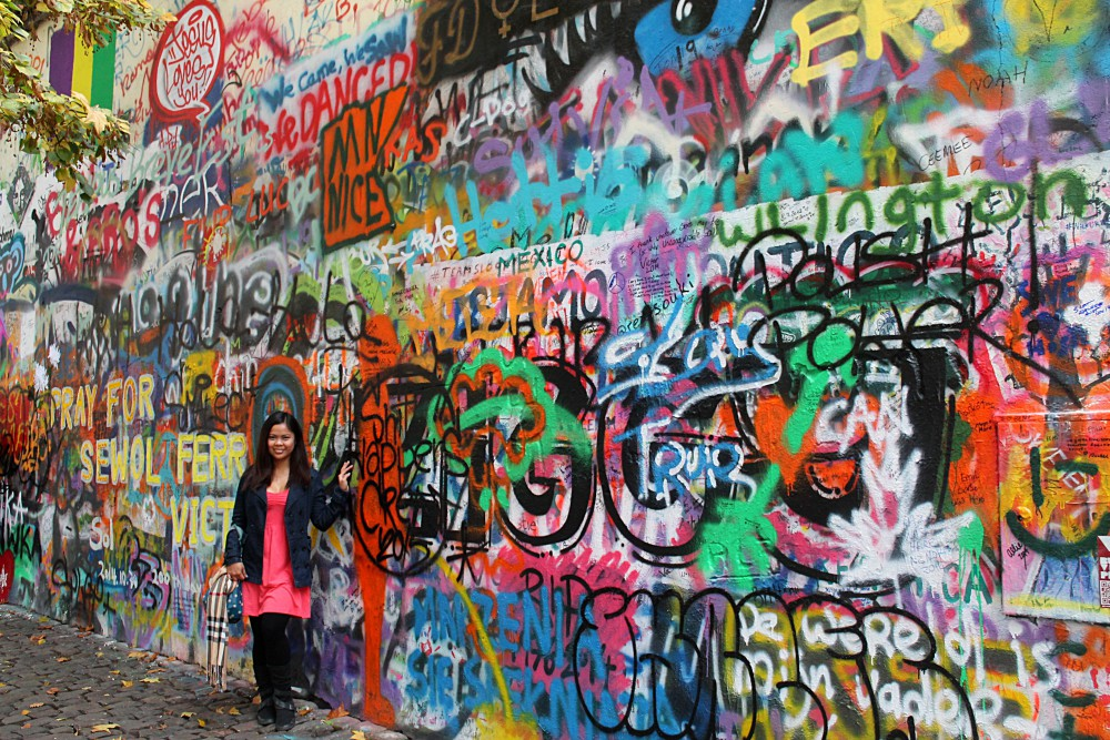 Prague Beautiful City in Czech Republic Lennon Wall