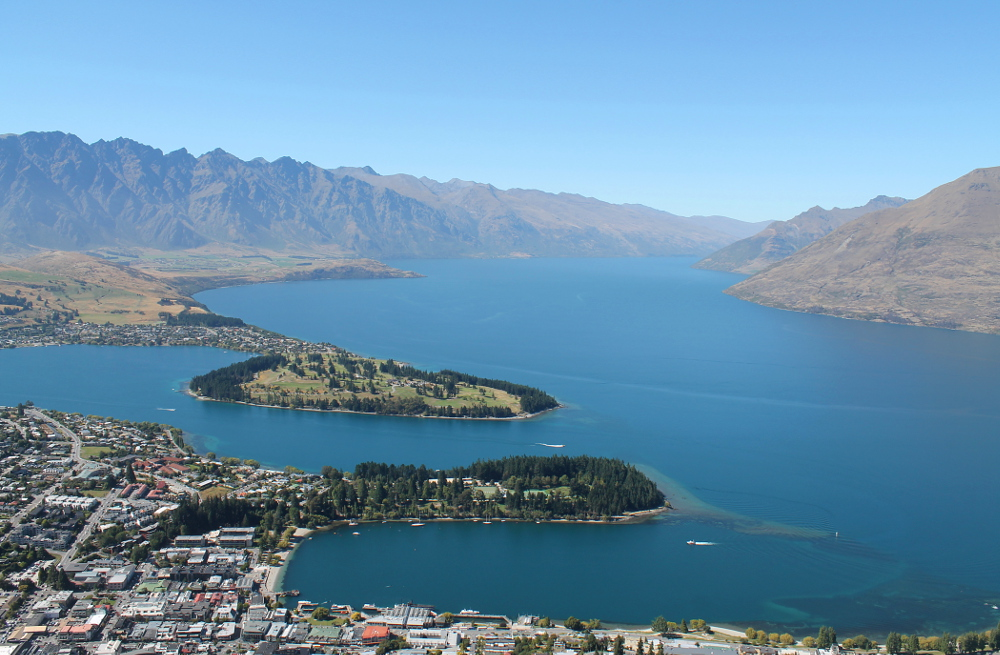 Skyline Gondola The Best Way to See Queenstown in A Day Lake Wakatipu Mountains