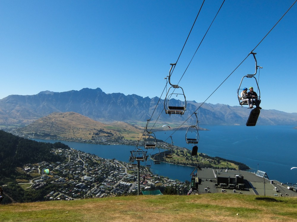Queenstown, New Zealand Skyline Gondola - Most Romantic Towns in the World