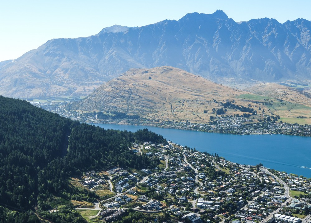 Skyline Gondola The Best Way to See Queenstown in A Day Lake Wakatipu from Above