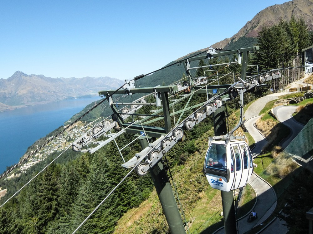 Skyline Gondola The Best Way to See Queenstown in A Day Cable Car View