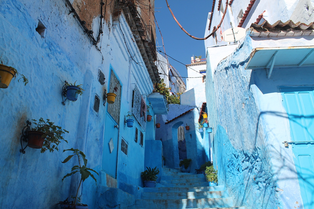 Best Medinas in Morocco - Chefchaouen Blue Town