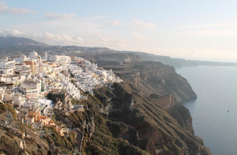 Most Romantic Towns around the World Fira Santorini
