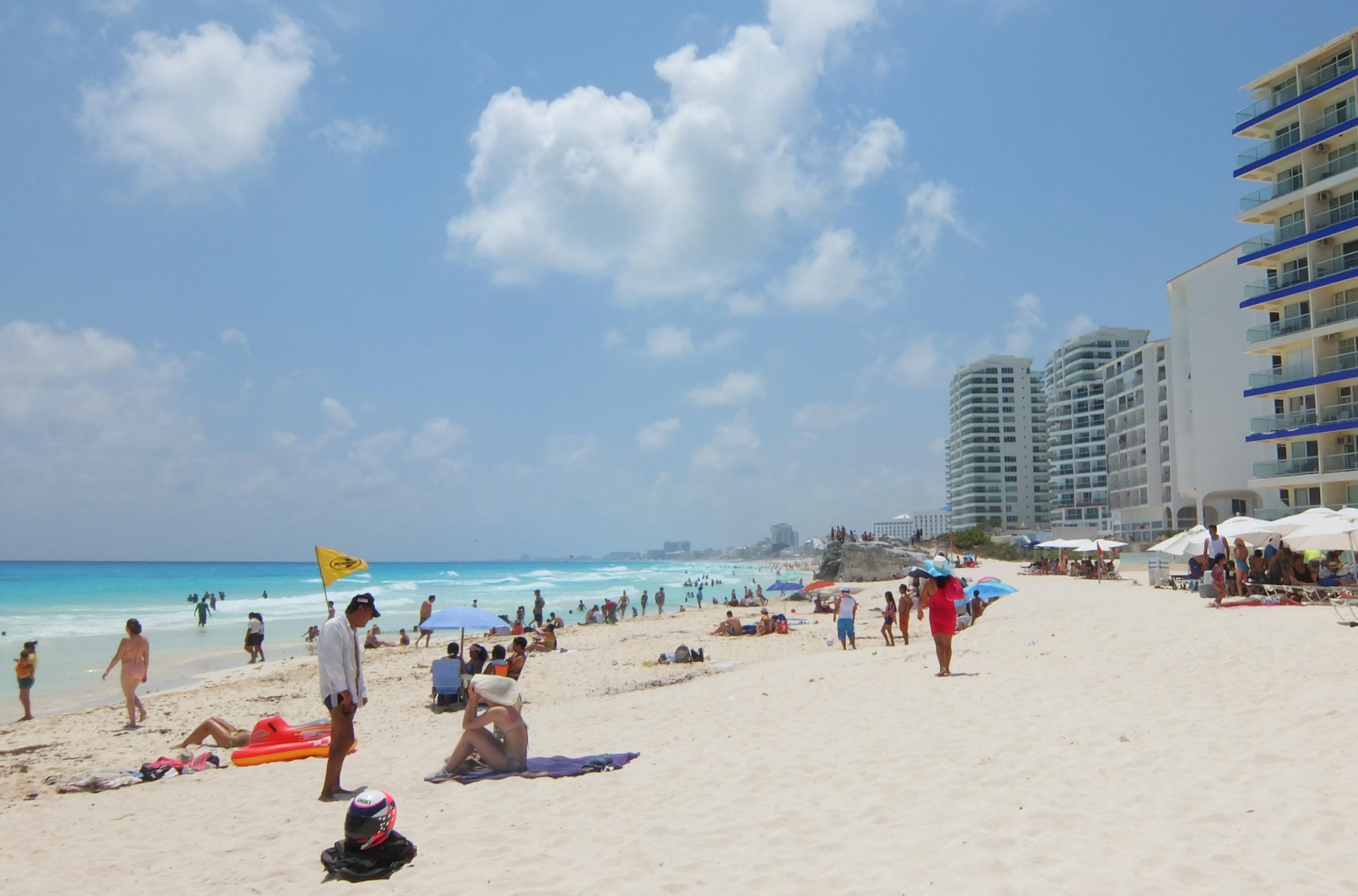 Mexico Caribbean - Cancun Beach