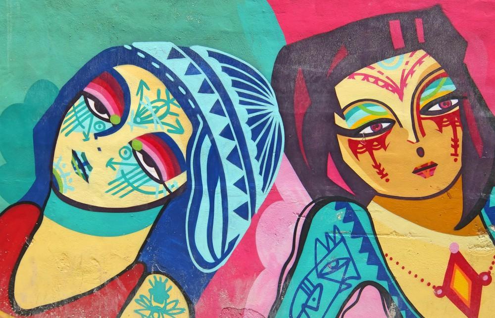 Cancun Beach Caribbean Mexico - Hotel Zone - Street Art