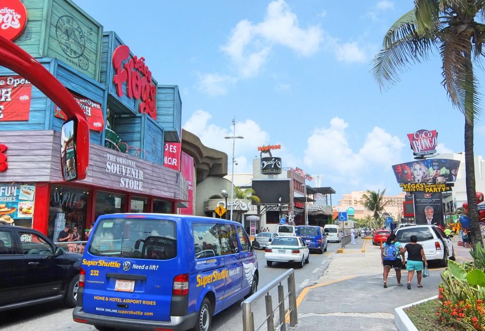 Cancun Beach Caribbean Mexico - Hotel Zone