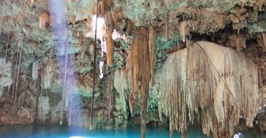 Best Cenotes in Mexico's Yucatan Peninsula - Cenote Dzitnup located in Valladolid