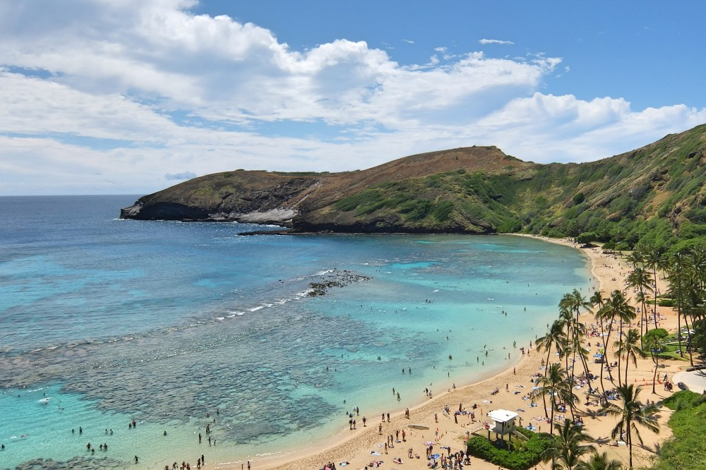 Romantic Journey around the World - Couple Travel - Hanauma Bay Oahu Hawaii