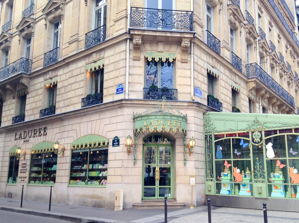Weekend Arts Romance - 2 Days in Paris France - Laduree Champs Elysses