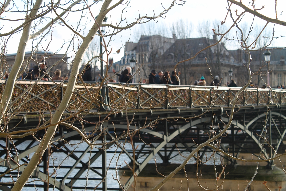 Weekend Arts Romance - 2 Days in Paris France - Ponts d Arts Love Locks Bridge