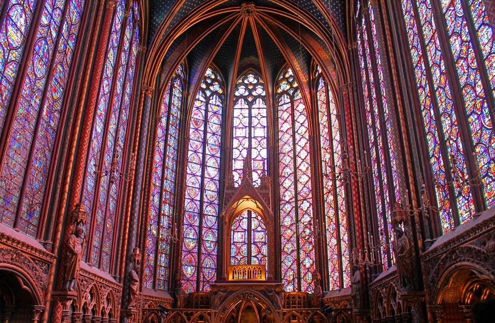 Weekend Arts Romance - 2 Days in Paris France - Sainte Chapelle