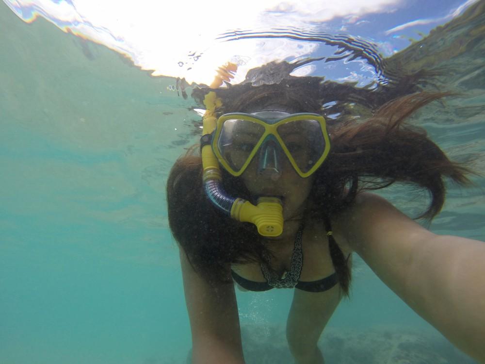 Backpacking Oahu Hawaii - Hanauma Bay - Snorkelling