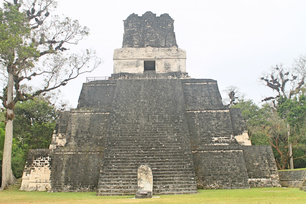 Tikal Best Ruins in Guatemala - Pyramid - Temple of Masks
