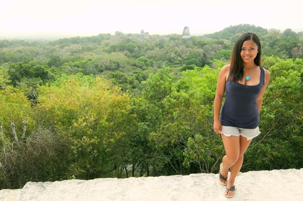 Tikal Best Ruins in Guatemala - Pyramid - Temple 4 - Star Wars