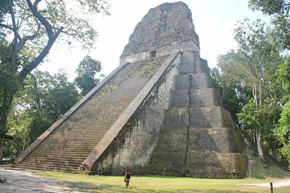 Tikal Best Ruins in Guatemala - Pyramid - Temple 5