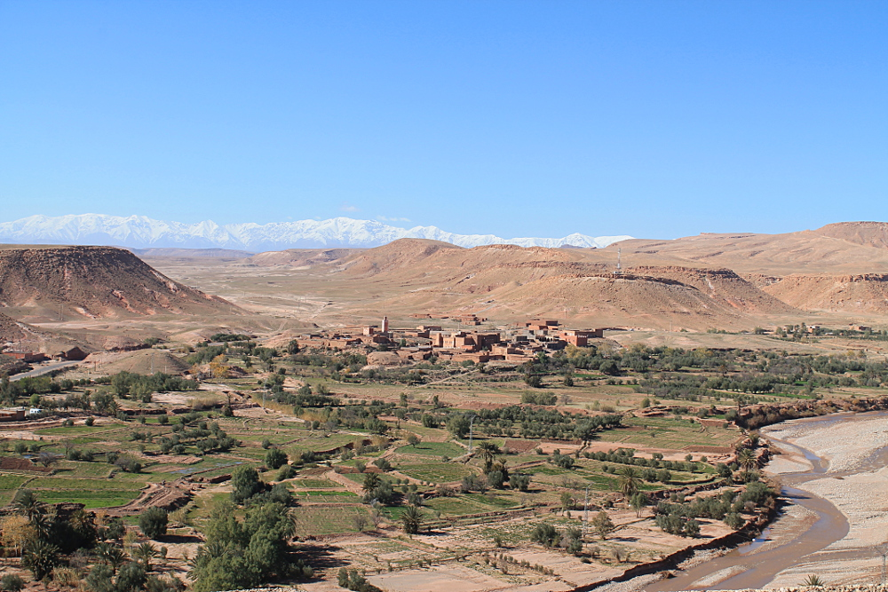 Marrakech Morocco - Gateway to Sahara Desert - Atlas Mountains Ait Ben Haddou