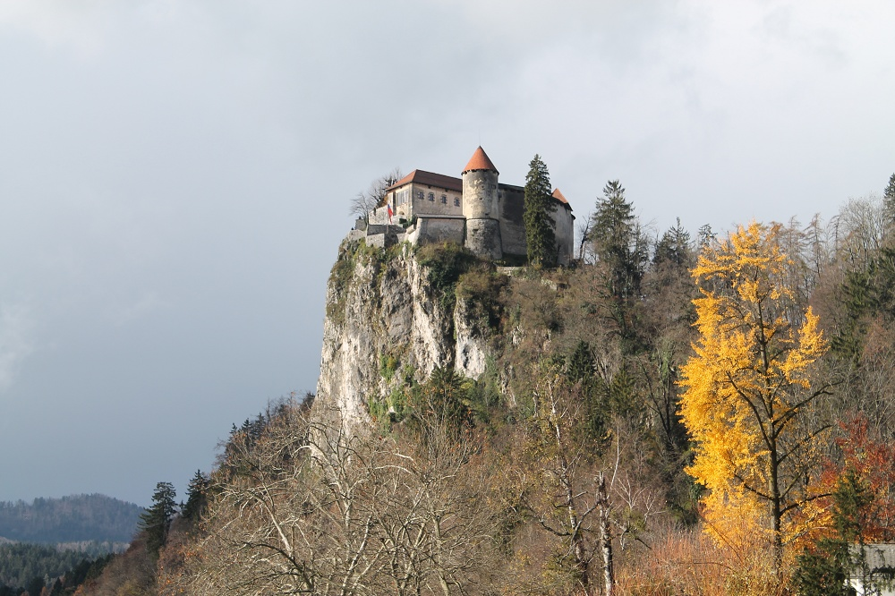 A Fairy Tale in Europe, One Week in Slovenia - Bled Castle on a Hill