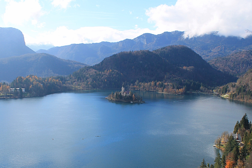 A Fairy Tale in Europe, One Week in Slovenia - Lake Bled from Bled Castle