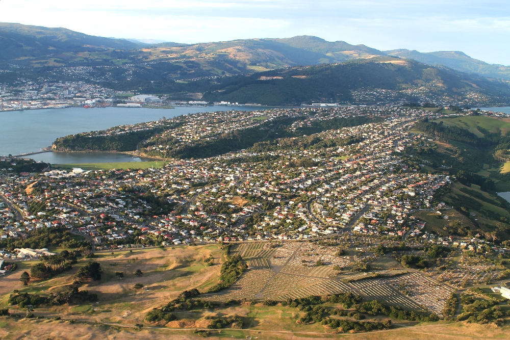 dunedin-new-zealand-from-above
