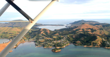Dunedin Flight New Zealand