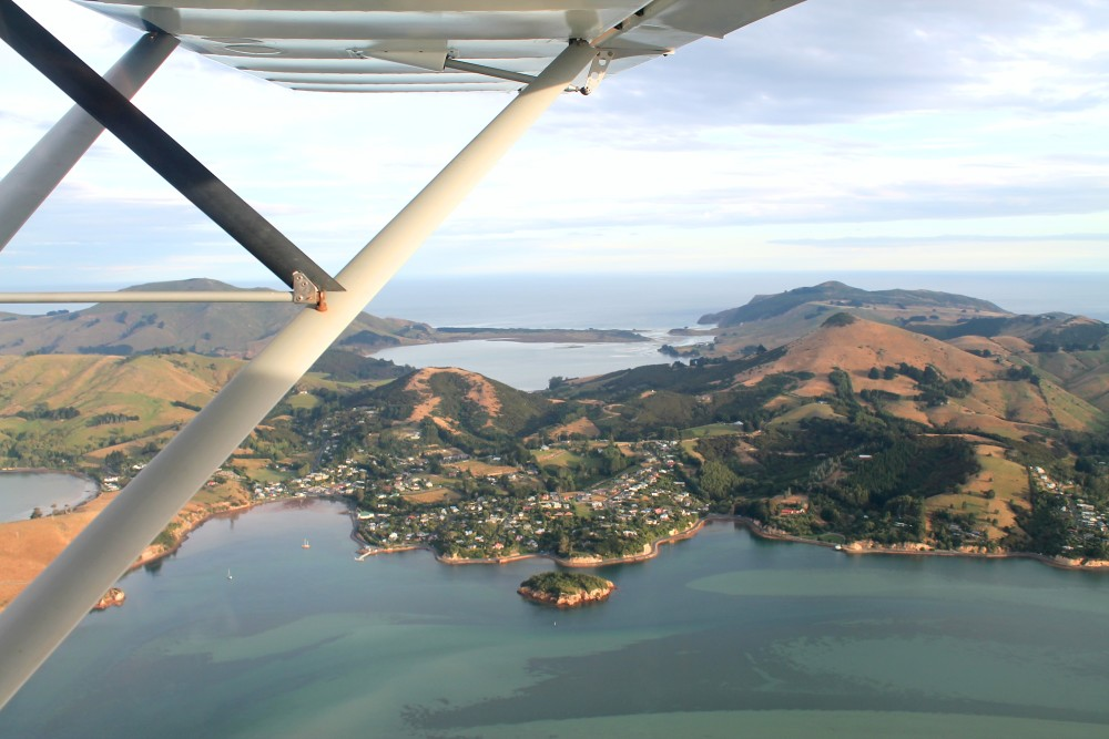 Scenic Flights around the World - Dunedin New Zealand
