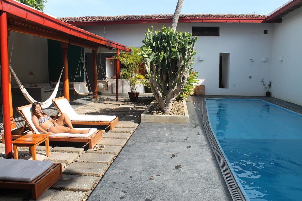 Los Patios Boutique Hotel Granada Nicaragua - Review - Pool Area