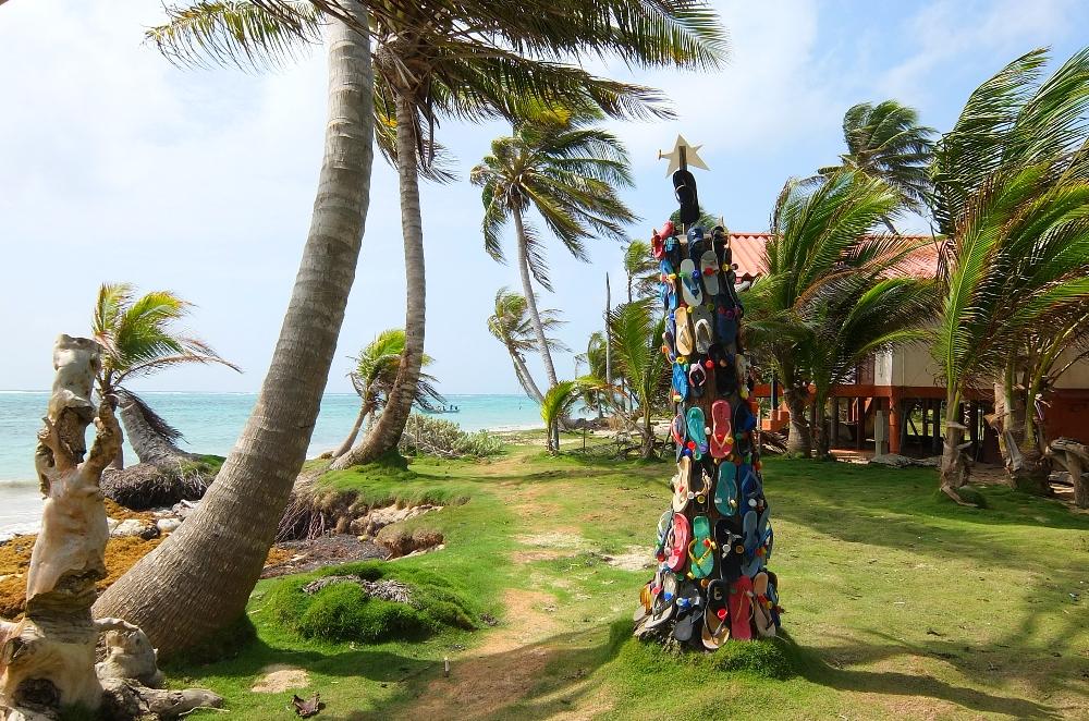 Budget Carribbean - Little Corn Island Nicaragua - East Beach